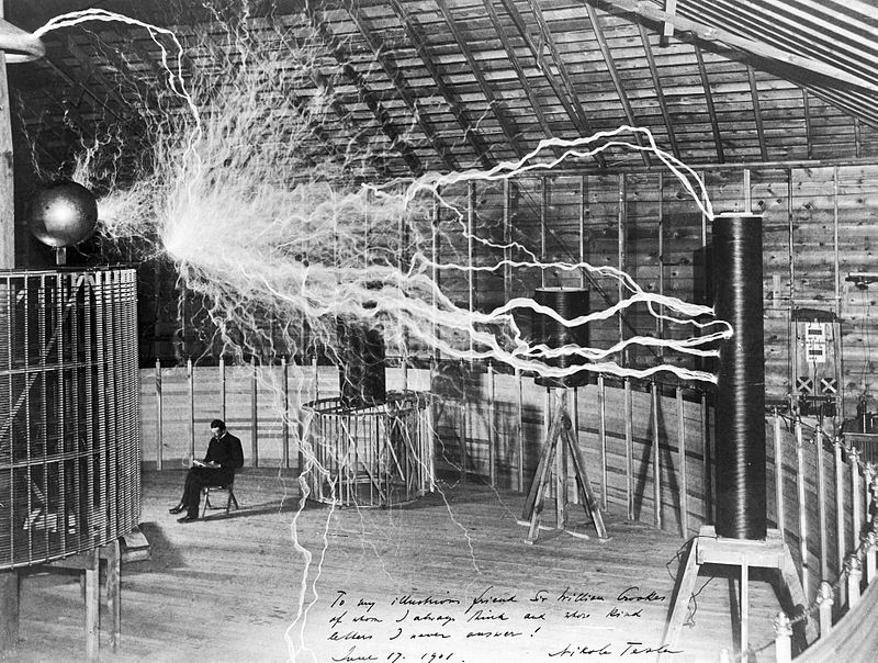 If you purchase a residential real estate in Colorado Springs, you're coming to a home of Nikola Tesla's laboratory for studying the electricity