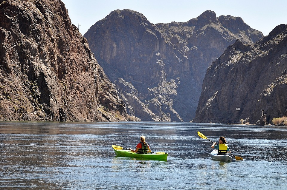 Having fun in the streams could be your kind of fun, after buying a real estate near Colorado river
