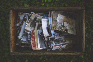 Image of the box full of pictures.