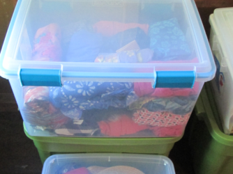 Properly storing your belongings during winter