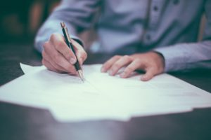 A moving company needs to give you a contract