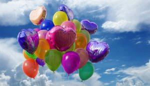 Balloons - use them to throw a memorable house warming party.