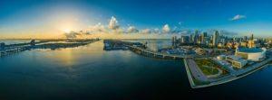 Miami panorama.