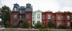 Townhouses in Washington D.C.