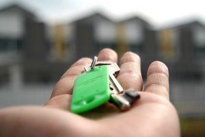 Getting house keys after home buyer rebate.