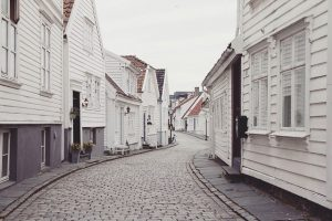 Houses in the neigborhood