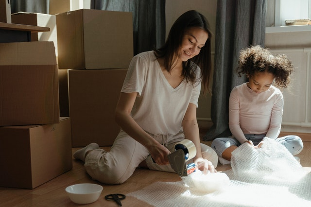 Family move from California to Colorado: packing pro tips