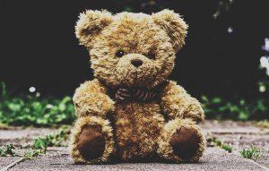 A teddy bear.